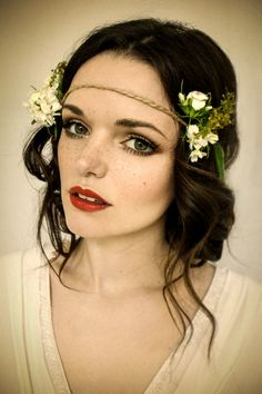 Pretty boho freckles bridal makeup - Nicola Honey Artistry