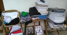 Clothes collected fr