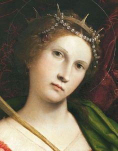 Lorenzo Lotto - St. Catherine