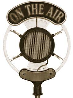 "vintage microphone ""On The Air"". #microphone #mics #audio http://www.pinterest.com/TheHitman14/headphones-microphones-%2B/"