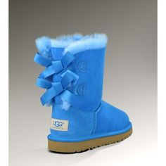 UGG Australia's sheepskin boot with a luxe leather bow for women - the #Josette
