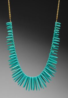Turquoise Necklace Stick