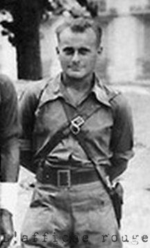 Joseph Epstein. (Colonel Gilles).  French resistance. FTPF.