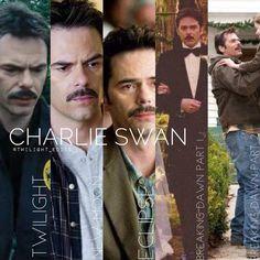 Twilight Quotes, Twilight Saga Series, Twilight Cast, Twilight Pictures, Twilight Movie, Charlie Swan, Billy Burke, Feel Like Crying, Twilight Saga