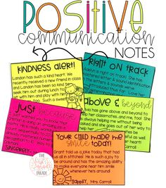Perfect for establishing and maintaining a p… FREE positive communication notes. Perfect for establishing and maintaining a postivie rapport with both [. Parent Teacher Communication, Parent Teacher Conferences, Teacher Notes, Parent Notes, Communication Activities, Autism Activities, Teacher Stuff, Notes To Parents, Parents As Teachers