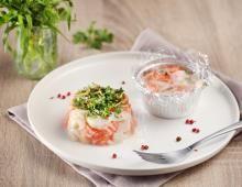 Recette tartare saumon st-jacques express, notre recette tartare saumon st-jacques express - aufeminin.com