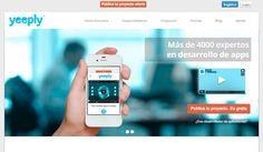 Yeeply es una start-up innovadora que se especializa en el desarrollo de aplicaciones móviles. Nacida en España pero con vocación internacional.