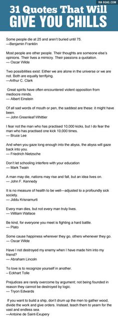 Some great quotes about life and it's quality. - 9GAG