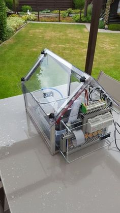 """Figure out additional info on """"greenhouse ideas"""". Check out our web site. Diy Greenhouse Plans, Small Greenhouse, Greenhouse Gardening, Hydroponics System, Aquaponics, Automatic Watering System, Wooden Greenhouses, Hot House, Smart Garden"""