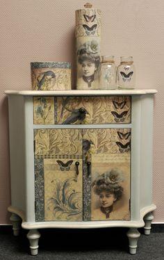 Möbel mit Decoupage « LaBlanche