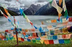 Tibetan Prayer Flags    TIBET-10745