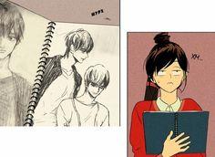 Cheese In The Trap Webtoon, Manhwa, Comics, Funny, Anime, Ideas, Costumes, Artists, Blue Prints