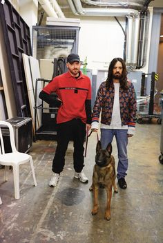 Alessandro Michele of Gucci and Demna Gvasalia of Balenciaga and Vetements are making clothes that capture the zeitgeist. T brought them together for the first time to have a little chat.
