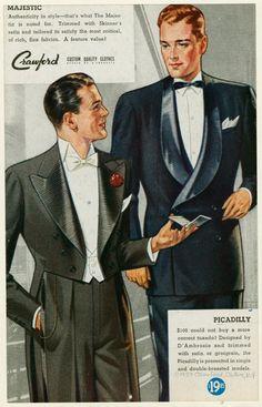 [Two men wearing tuxedoes.] 1937
