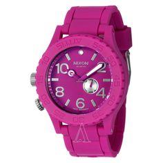 Nixon The Rubber Men's Quartz Watch Dream Watches, Cool Watches, Watches For Men, Nixon Watches, Watch Deals, Rubber Bracelets, Quartz Watch, Fashion Watches, Chronograph