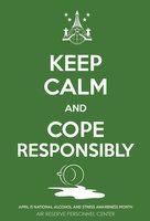 140220 Poster April Fool-Alcohol-Stress by scrollmedia