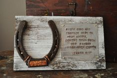 "This makes a great personlized baby gift for a cowboy or cowgirl nursery. Even if the nursery isn't decorated ""western"" would be a great accent piece to a baby's room in a cowboy home."