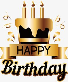 Golden birthday cake poster, Vector Png, Gold Foil Paper, Golden Cake PNG and Vector Happy Birthday Greetings Friends, Happy Birthday Printable, Happy Birthday Wishes Images, Happy Birthday Wishes Quotes, Birthday Clipart, Birthday Blessings, Birthday Wishes Cards, Happy Birthday For Him, Happy Birthday Flower