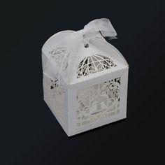 Encontrar Más Artículos de Fiesta Información acerca de Romantic Favor de la boda cajas del caramelo Mini jaula de pájaro de bricolaje galleta del caramelo de la caja de regalo banquete de boda con la cinta blanca 100 unids/set, alta calidad sandalia de la fiesta, China parte de la caja de alimentos Proveedores, barato caja IP65 de Easy Life 365 en Aliexpress.com