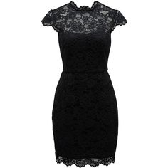 Forever New Allie Lace Dress ($105) ❤ liked on Polyvore