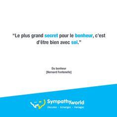 Commencez par vous, en vous inscrivant sur http://sympathy-world.fr