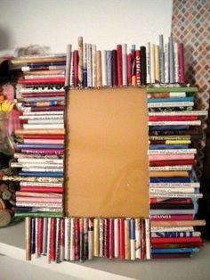 Recycled Rolled Magazine Frame  by Markiebuck Longview, TX $22