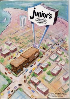 Junior's-ate here with my dad all the time when he would visit me..