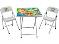 Mesinha Sapeca Com 02 Cadeiras - Metalmix