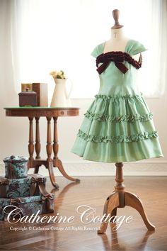 商品番号: PC546DR 子供ドレス アースカラ-フリルドレス  フォーマル 120-150cm PC546DR