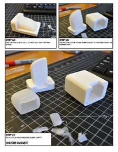 Design Experience that Matters: How to Create a Rubber Prototype Using a 3D-Printed Mold - Core77