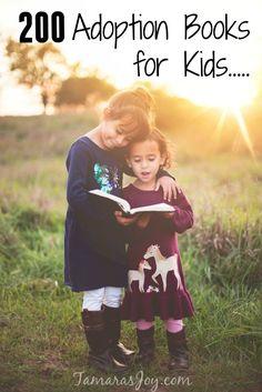 Over 230 adoption books for children to choose from! http://Tamarasjoy.com