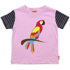 T-shirt with an iconic Parrot in red, yellow and blue. $40.00, via Etsy.