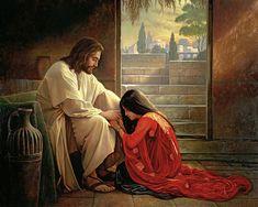 Greg olsen/art | Forgiven Painting by Greg Olsen - Forgiven Fine Art Prints and Posters ...