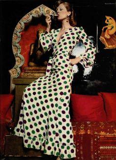 1973 - YSL dress in lOfficiel