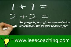 We have the answers!  https://www.facebook.com/pages/Lees-Coaching-Corps-of-Educators/1428809577342418 http://www.leescoaching.com/education/ coach@leescoaching.com