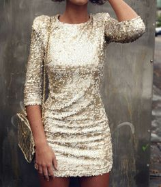 sequin - Click image to find more Women's Fashion Pinterest pins