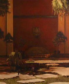 Asian Courtyard | by Norman Graffam Jr.