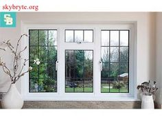 Everest Aluminium Windows are an ideal way to enhance the look of your home. Choose slimline aluminium casement or traditional secondary glazing. Window Grill Design Modern, Window Design, Door Design, House Design, Aluminium Windows, Casement Windows, Windows And Doors, Tilt And Turn Windows, Steel Windows