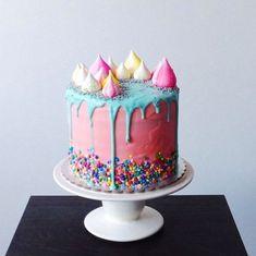 The Hottest Wedding Trend: 17 Sweet And Fun Color Drip Wedding Cakes | Weddingomania