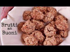 BRUTTI MA BUONI Ricetta Facile - Flourless Nut Cookies Easy Recipe - YouTube