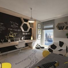 Modern Kids bedroom by living box - Modern Modern Kids Bedroom, Diy Zimmer, Gamer Room, Teenage Room, Living Room Green, Kids Room Design, Room Paint, Boy Room, Room Decor