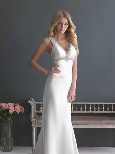Frühling 2014 Taft 3/4 Arm Brautkleider 2014