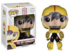 Funko POP Marvel Disney: Big Hero 6 Go Go Tomago Action Figure New in package (NIP)! Packed in protective plastic for shipping. Free Shipping to U.S., Territories and A.P.O's We only use the Global Sh