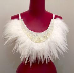Mother of Pearl Feather Bra http://www.lovekhaos.com/shop/mother-of-pearl-feather-bra #festivalstyle #festivalfashion #burningman #ravebra #lingerie #valentinesday #feather #bride #bridal #wedding #honeymoon #bohobride #modernbride #alternativebride