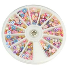 1200Pcs Strass Roue Nail Ongle Manucure Art Scintillants Glitter Décor Design | Your #1 Source for Beauty Products
