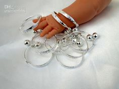 Baby Charm Bracelets Silver - Beautiful Bracelets Silver Bracelets, Bangle Bracelets, Bangles, Baby Charm Bracelet, Baby Kids, Kids Outfits, Baby Things, Accessories, Ebay