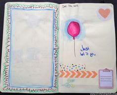 Moleskin Sketchbook by Olya Schmidt, via Behance