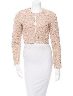 Stella McCartney Embroidered Silk Jacket #EasyWeekendStyle