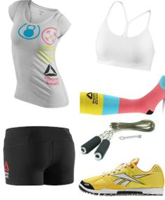 outfit334 - CrossFit Clothing.. Shirt & socks.. Not so much the shorts!