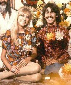 George Harrison and Pattie Boyd, 1967
